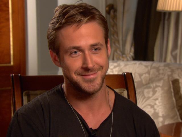 Ryan Gosling Natural Hair Color