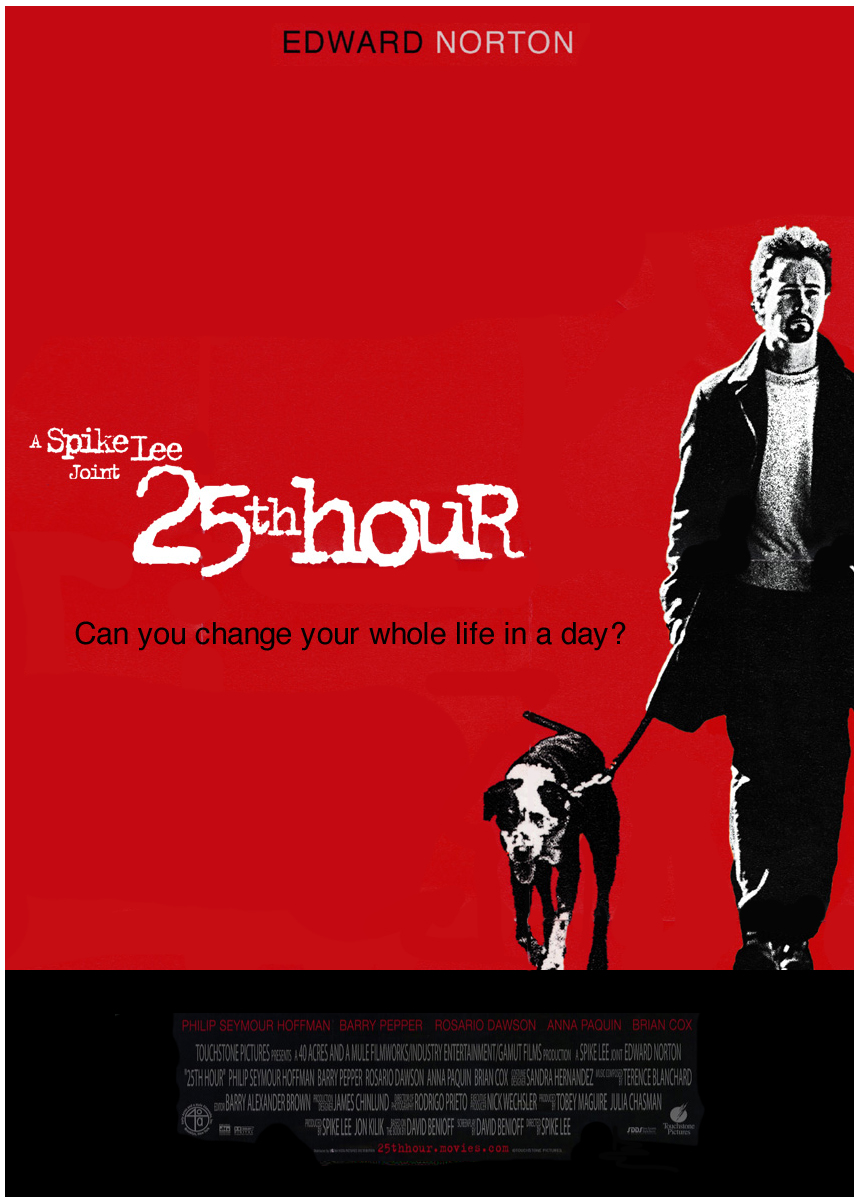 Risultati immagini per 25th hour movie poster
