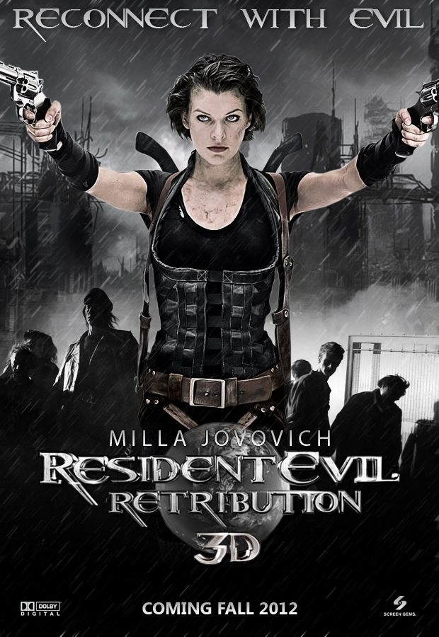Reserve, neither Resident evil retribution movie are not