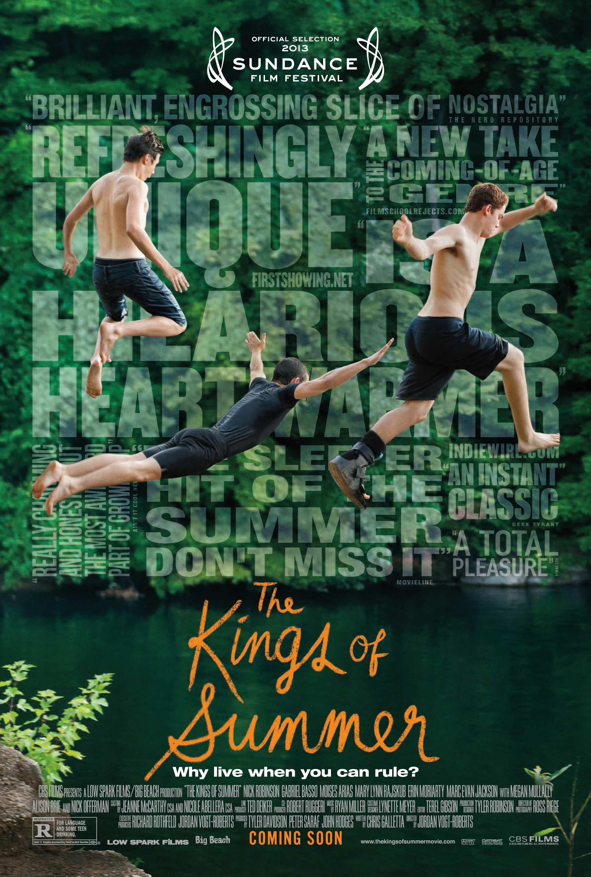 ზაფხულის მეფეები (ქართულად) - The Kings of Summer / Короли лета (2013)