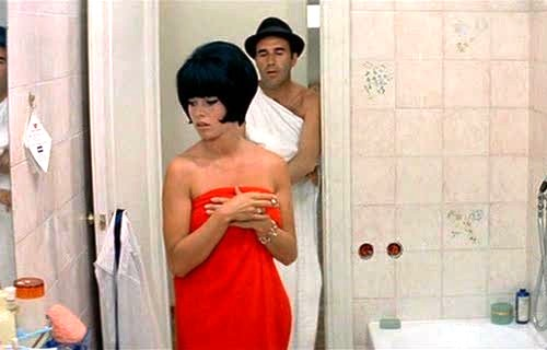 Brigitte Bardot and Michel Piccoli in Contempt Godard 1963